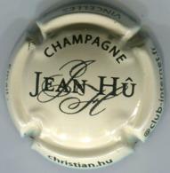 CAPSULE-CHAMPAGNE HU Jean N°06 Crème & Noir - Champagnerdeckel