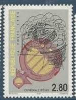 "FR YT 2984 "" Cathédrale D'Evry"" 1995 Neuf** - France"