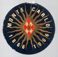 MONACO -- MONTE CARLO -- Autocollant Plastique MONTE CARLO 1866 - 1966 - Stickers