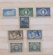 United Nations (New York) 1952 - 1953 MINT Stamps - Refugees - UPU - Technical Assistance - New-York - Siège De L'ONU