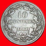 + FRANCE: LUXEMBOURG ★ 10 CENTIMES 1860! LOW START ★ NO RESERVE! - Lussemburgo