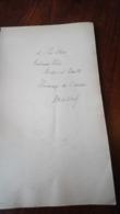 Basile Nikitine (1885 - 1960) AUTOGRAPHE AUTOGRAPH LES VALIS D'ARDELAN IRAN KURDISTAN OURMIAH OURMIA 1921 34 PAGES - Boeken, Tijdschriften, Stripverhalen