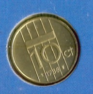 1988 * 10 Cent  Uit FDC-SET  * NEDERLAND * - 1980-…: Beatrix