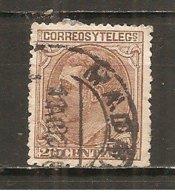 España/Spain-(usado) - Edifil  203 - Yvert  186 (o) - Usados