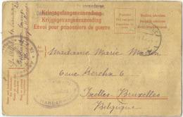 _9Dp607: HARDERIJK > Ixelles  18.3.1918 - WW I