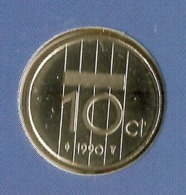 1990 * 10 Cent  Uit FDC-SET  * NEDERLAND * - [ 3] 1815-…: Königreich Der Niederlande
