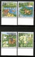Man 1997 / Birds Mammals Flowers MNH Vögel Säugetiere Blumen Aves Mamíferos Flores / Cu12326  5-2 - Pájaros