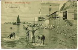 PIRAN, PIRANO - Stabilimento Bagni, Tovarniško Kopališče, Prb. 1900 - Slowenien