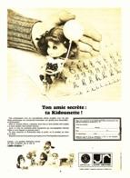 """PUB POUPEE """" KIDOUNETTE  """" 1968  ( 1 ) - Dolls"""