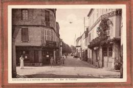 CPA - COULONGES-sur-l'AUTIZE (79) - Aspect De La Rue De Fontenay En 1941 - Coulonges-sur-l'Autize