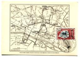 Réseau Pneumatique - Yvert 1498 - X 1215 - 1960-69