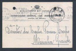 Cinema. Kino. Pennant Of Movie 'Fatima Land Of Faith, The Best Portuguese Film'. 1945. Postal Stationery Peaked. 2sc - Cinéma