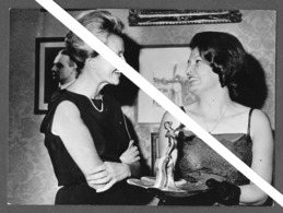 PHOTO PRESS -  Hrissa Pelissier  Jacqueline Auriol - 1964 - PARIS - AVIATRICE - Aviation