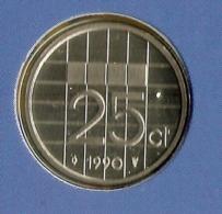 1990 * 25 Cent  Uit FDC-SET  * NEDERLAND * - [ 3] 1815-…: Königreich Der Niederlande