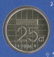 1996 * 25 Cent  Uit FDC-SET  * NEDERLAND * - [ 3] 1815-…: Königreich Der Niederlande
