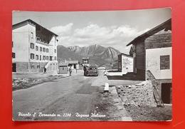 Cartolina Piccolo S. Bernardo M. 2200 - Dogana Italiana - 1961 - Italy