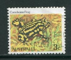 AUSTRALIE- Y&T N°767- Oblitéré (grenouilles) - Grenouilles