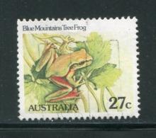 AUSTRALIE- Y&T N°768- Oblitéré (grenouilles) - Grenouilles