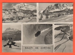 Cortina Belluno Olimpiadi  Sci 1956 Olimpyc Games Giochi Invernali - Winter Sports