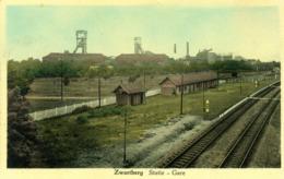 Zwartberg - Statie - Gare - Station - 1950 - Genk