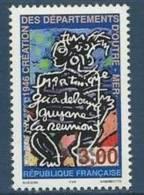 """FR YT 3036 """" Création Des Départements D'Outre-Mer """" 1996 Neuf** - France"""