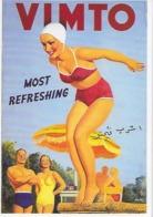 """CP - Publicité - """"VIMTO"""" - Most Refreshing (""""Le Plus Rafraichissant""""). - Advertising"""