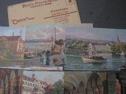 Konstanz Tucks Insel Hotel 6er Serie Mit Original Umschlag - Konstanz