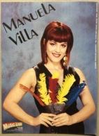 MANUELA VILLA Autografo - Musica E Musicisti
