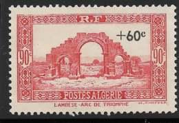 Yvert 167 Maury 171 - 60 C / 90 C Rouge - (*) - Algeria (1924-1962)