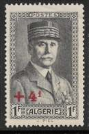 Yvert 169 Maury 172 - 4 F / 1 F Brun Noir - (*) - Algérie (1924-1962)