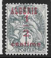 Yvert 1 Maury 1 - 1/2 C Type Blanc Type I - (*) - Algeria (1924-1962)
