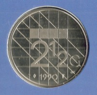 1990 * 2,5 Gulden  Uit FDC-SET  * NEDERLAND * - 1980-…: Beatrix