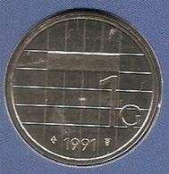 1991 * 1 Gulden  Uit FDC-SET  * NEDERLAND * - [ 3] 1815-… : Kingdom Of The Netherlands