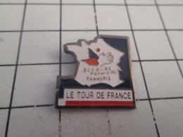 419 Pin's Pins : BEAU ET RARE : Thème SPORTS / CYCLISME TOUR DE FRANCE SECOURS POPULAIRE - Wielrennen