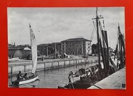 Cartolina Riccione - Albergo Milano - 1952 - Rimini