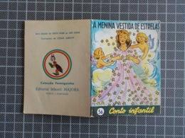 Cx 10) MAJORA Conto Infantil Portugal Ilustrado César Abbott A MENINA VESTIDA DE ESTRELAS 9,8X7,5cm Coleção Formiguinha - Boeken, Tijdschriften, Stripverhalen