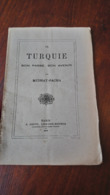 MIDHAT PACHA LA TURQUIE SON PASSE SON AVENIR 1878 29 PAGES /FREE SHIPPING R - Books, Magazines, Comics