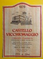 12046 -  Castello Vicchimaggio 1978 Chianti Classico  Italie - Other