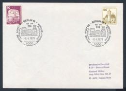 Deutschland Germany 1979 Brief Cover - 50 Jahre Berliner Verkehrs Betrieb 1929-1979, Jubiläums Veranstaltung/ Exhibition - Treinen