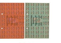 Tickets De Rationnements - Collections