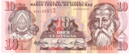 Honduras P.86 10 Lempiras 2003 Unc - Honduras