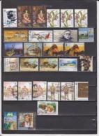 Ukraine 28 Used Commemorative Stamps - Ukraine