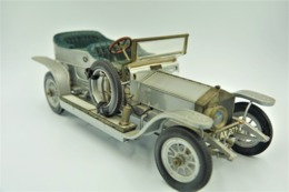 FRANKLIN MINT PRECISION MODELS ,1907 ROLLS ROYCE THE SILVER GHOST 1/24 ,1986 Parts Or Repair - Matchbox