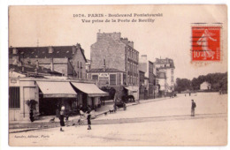 5952 - Paris ( 12e ) - Boulevard Poniatowski ( Vue Prise De La Porte De Reuilly ) - N°1076 - Gondry éd. -- - Paris (12)