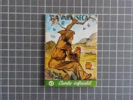 Cx 10) MAJORA Conto Infantil Portugal Ilustrado César Abbott A VARA SECA 9,8X7,5cm Coleção Formiguinha - Boeken, Tijdschriften, Stripverhalen