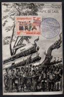 LAOS - VIENTIANE / 1965 CARTE MAXIMUM PREMIER JOUR (ref 7496p) - Laos