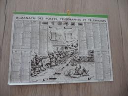 Calendrier Almanach Des Postes 1945 Illustré Par G.Couret Paris Le 24 Août 1944 - Calendars