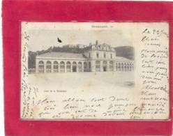 BESANCON LE ....  GARE DE LA MOUILLERE . AFFR AU VERSO LE 23-1-1904 . 2 SCANES - Besancon