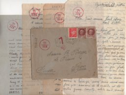 Haute Savoie - Destination Suisse - Censure - 29-7-1943 - Marcophilie (Lettres)