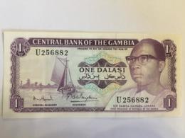 Gambia 1 Dalasi 1971 -87 Pick 4f - Gambia